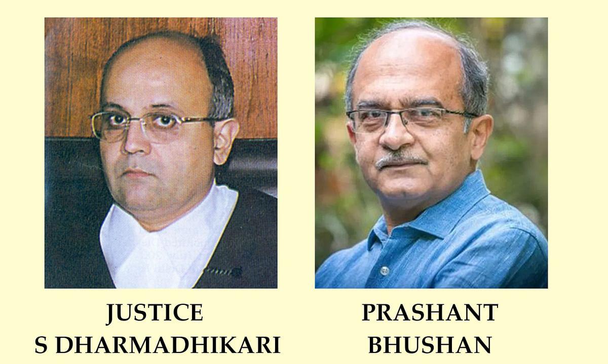 Justice S Dharmadhikari, Prashant Bhushan