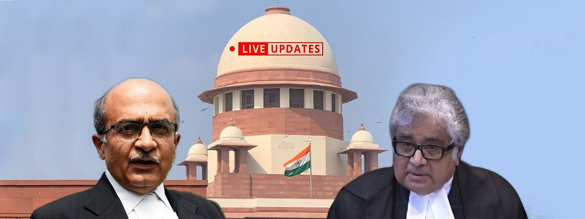 Supreme Court hears 11-year old Contempt case against Prashant Bhushan: LIVE UPDATES