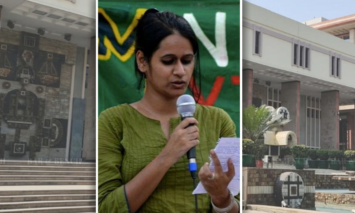 Delhi HC issues notice in bail plea by Pinjra tod activist Natasha Narwal in a Delhi riots case