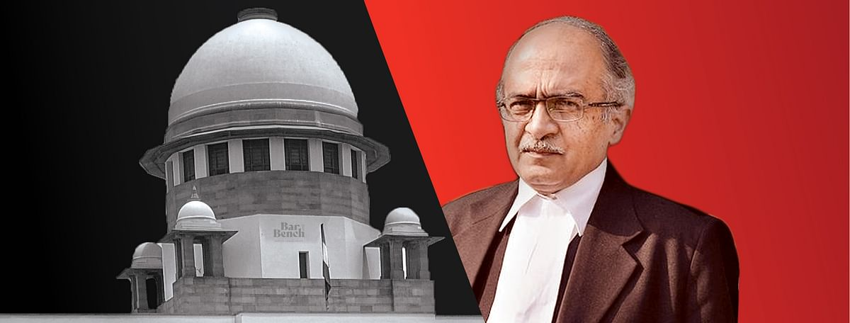 Prashant Bhushan moves Supreme Court seeking review of judgment imposing 1 rupee fine on him for Contempt of Court