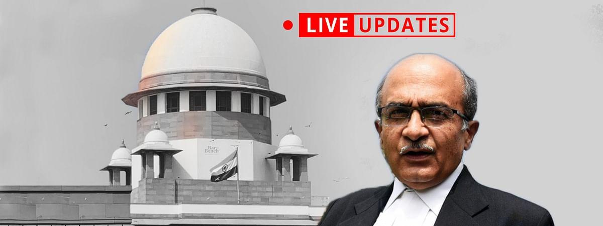 Prashant bhushan, Supreme Court LIVE