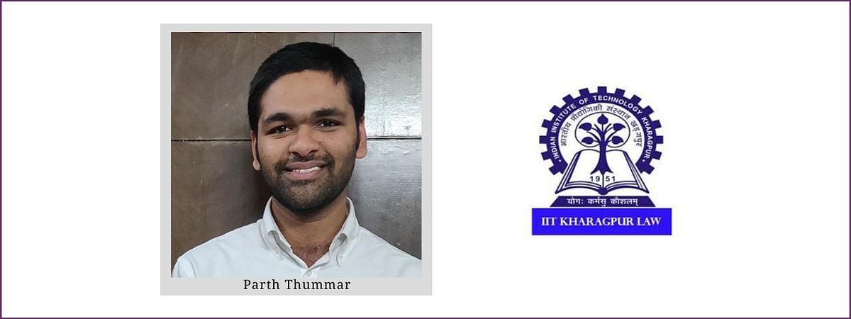 Meet our Campus Ambassadors: Parth Thummar, RGSOIPL, IIT Kharagpur