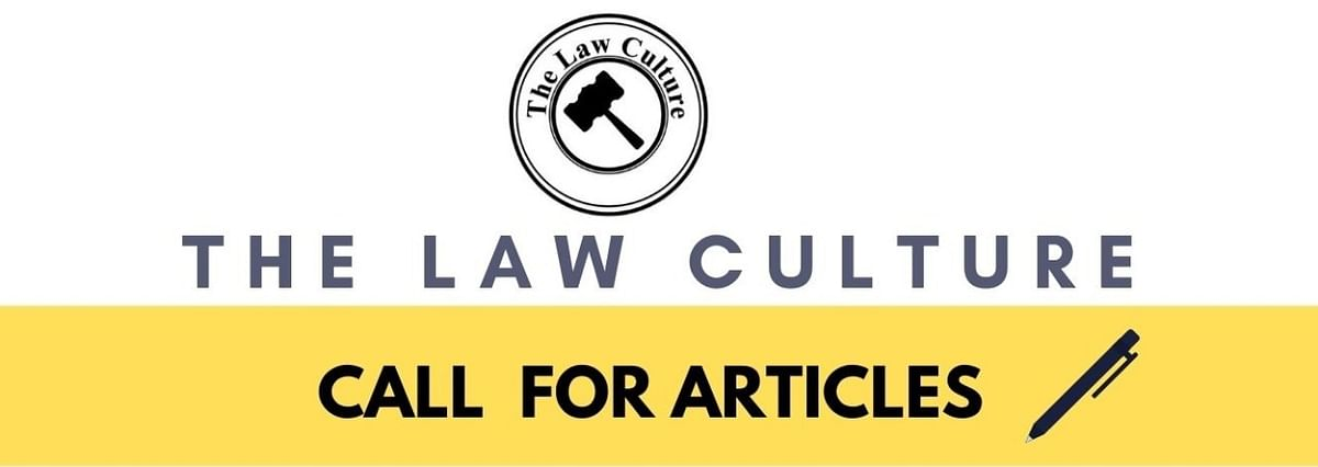 Call for Articles: The Law Culture