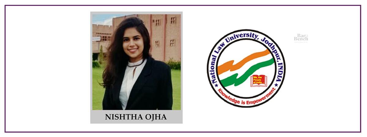 Meet our Campus Ambassadors: Nishtha Ojha, NLU Jodhpur