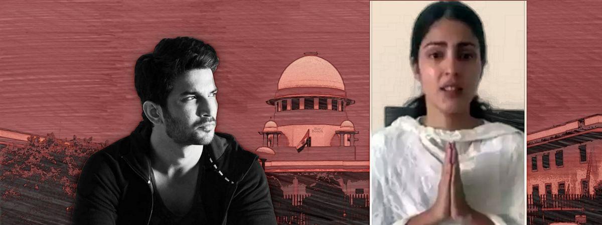 Sushant Singh Rajput: Supreme Court to pronounce its judgment on Rhea Chakraborty's transfer petition tomorrow