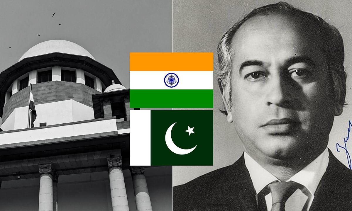 Zulfiqar Ali Bhutto's case before Indian Supreme Court