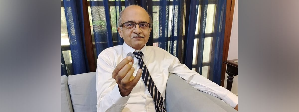 Prashant Bhushan was asked to pay Re 1 as fine for contempt of court over two of his tweets criticising the judiciary.