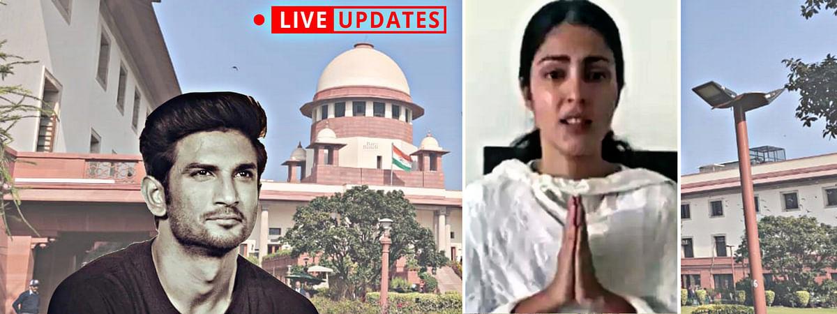 Sushant Singh Rajput suicide: SC hears Rhea Chakraborty's plea to transfer of probe from Patna to Mumbai [LIVE UPDATES]