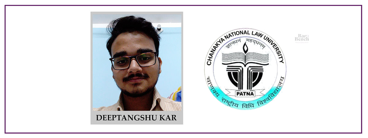 Meet our Campus Ambassadors: Deeptangshu Kar, CNLU
