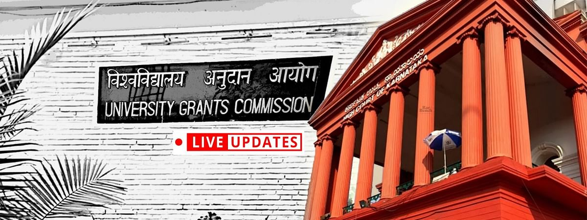 Plea re UGC Guidelines, seeking Exams to be conducted online amid COVID-19: LIVE UPDATES from Karnataka HC [Day 2]
