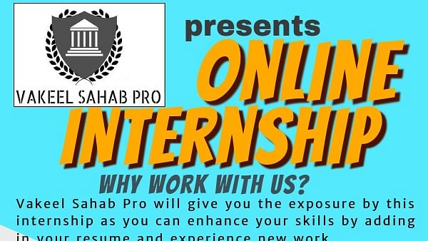Vakeel Sahab Pro offering online internships starting September 25