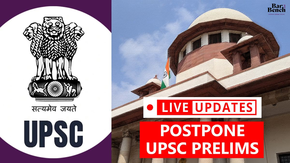 Plea to postpone UPSC exams amid COVID-19: LIVE UPDATES from Supreme Court hearing