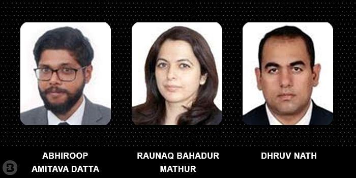 Abhiroop Amitava Datta, Raunaq Bahadur Mathur and Dhruv Nath