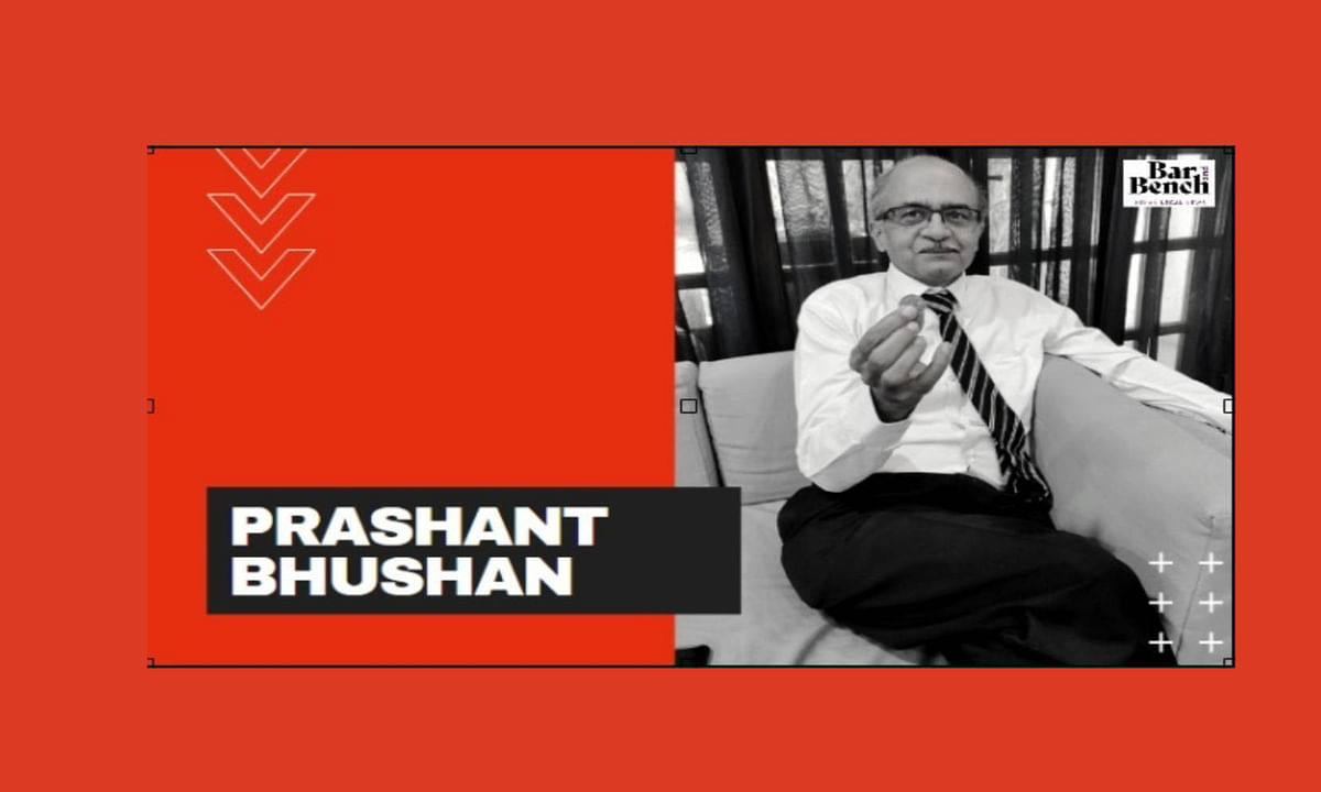 If you don't discuss corruption, how will you reform the judiciary? Prashant Bhushan