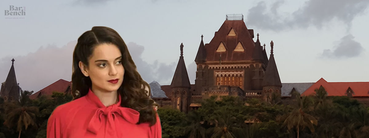 Cannot leave property in half-demolished state: Bombay HC to hear Kangana Ranaut's plea against BMC demolition tomorrow