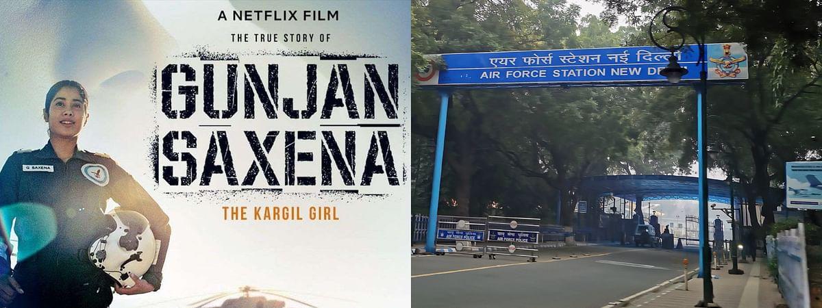 Gunjan Sexana: The Kargil Girl, Indian Air Force