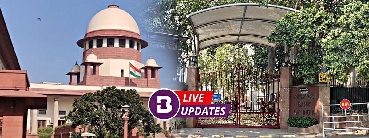 RBI, Supreme Court LIVE