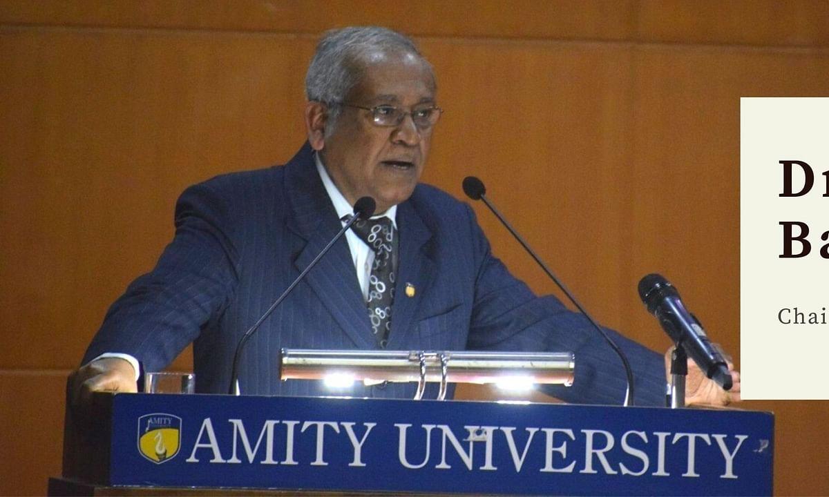 In conversation with Dr. DK Bandyopadhyay, Amity Law School
