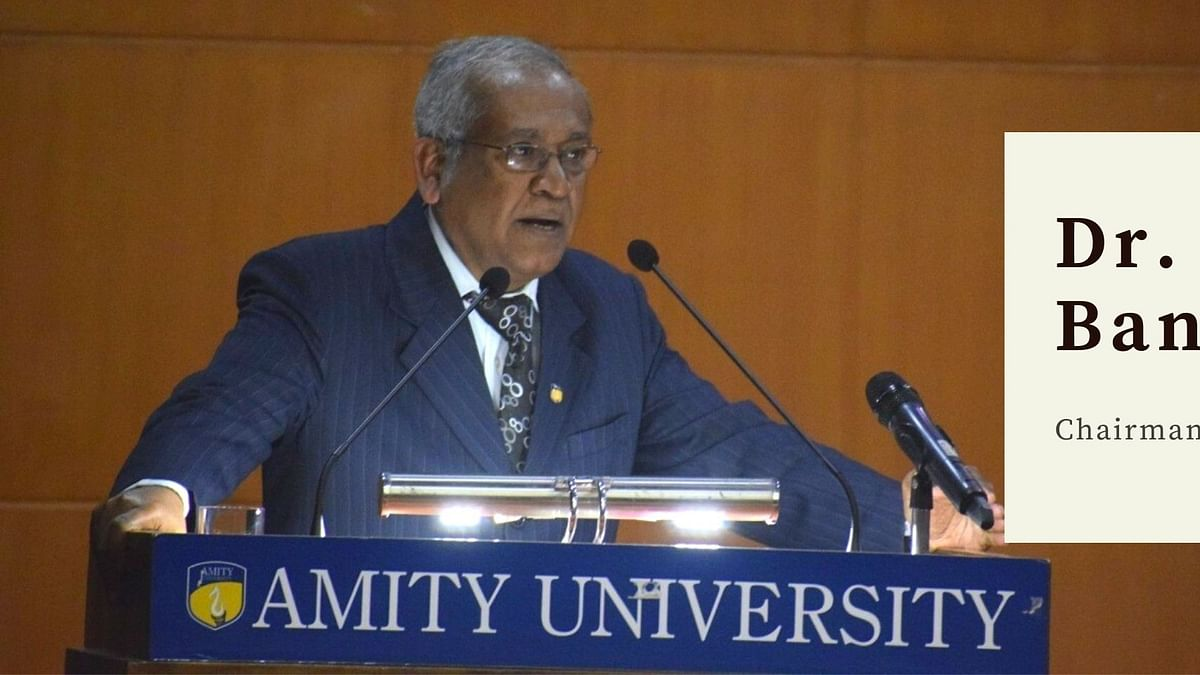 In conversation with Dr. DK Bandyopadhyay, Amity Law School