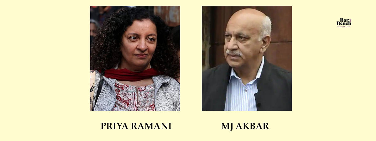 Priya Ramani and MJ Akbar