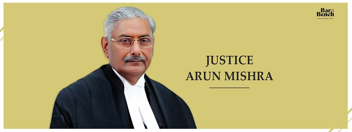 A law clerk's recollection of Justice Arun Mishra