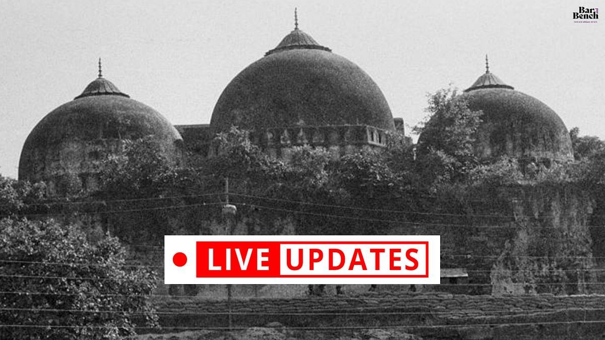 Babri Masjid Demolition: Judgment day [LIVE UPDATES]