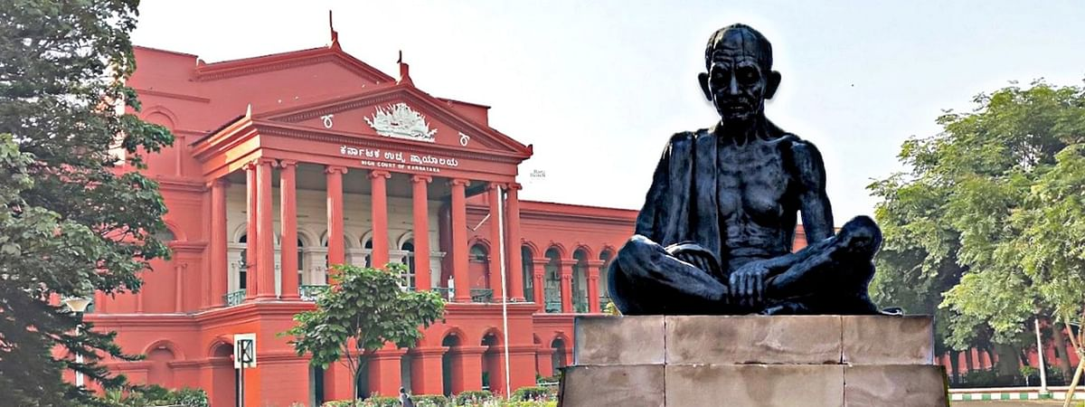 """He was truly a democrat who never liked human beings being worshipped"", Mahatma Gandhi statue is not a religious institution: Karnataka HC"