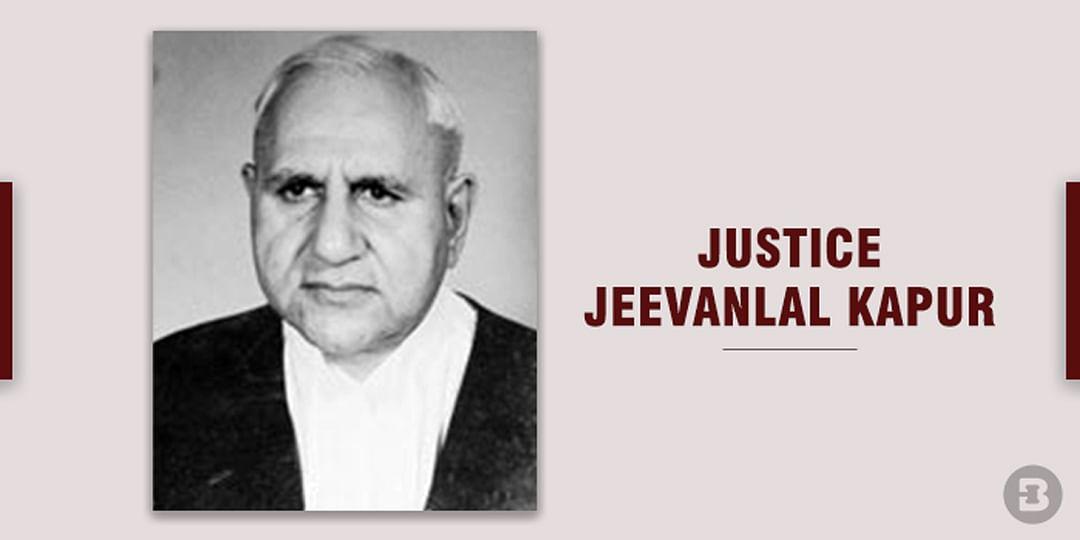Justice Jeevanlal kapur