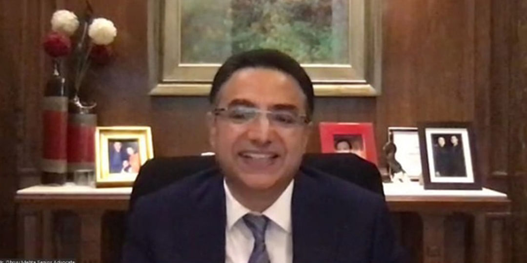 Senior Advocate Dhruv Mehta in webinar by CAN Foundation