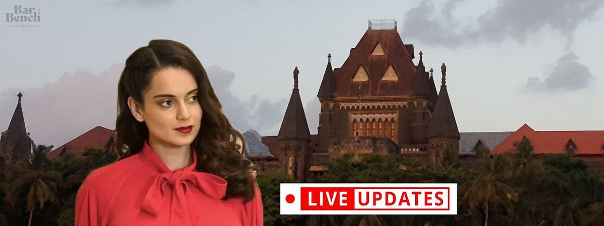Bombay HC hears Kangana Ranaut's plea challenging BMC demolition [LIVE UPDATES]