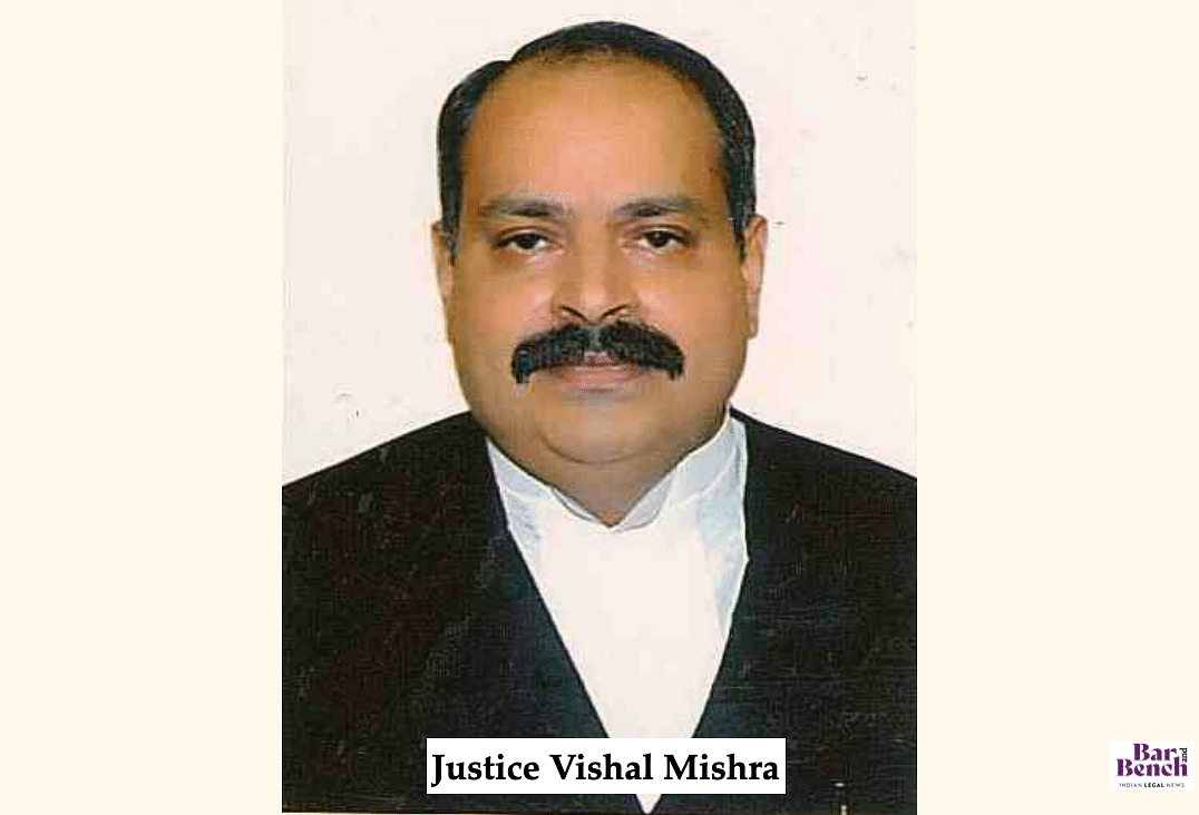Justice Vishal Mishra, High Court of Madhya Pradesh