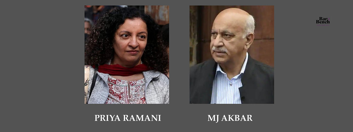 No settlement in MJ Akbar defamation case before Delhi Court as Priya Ramani stands by her statement