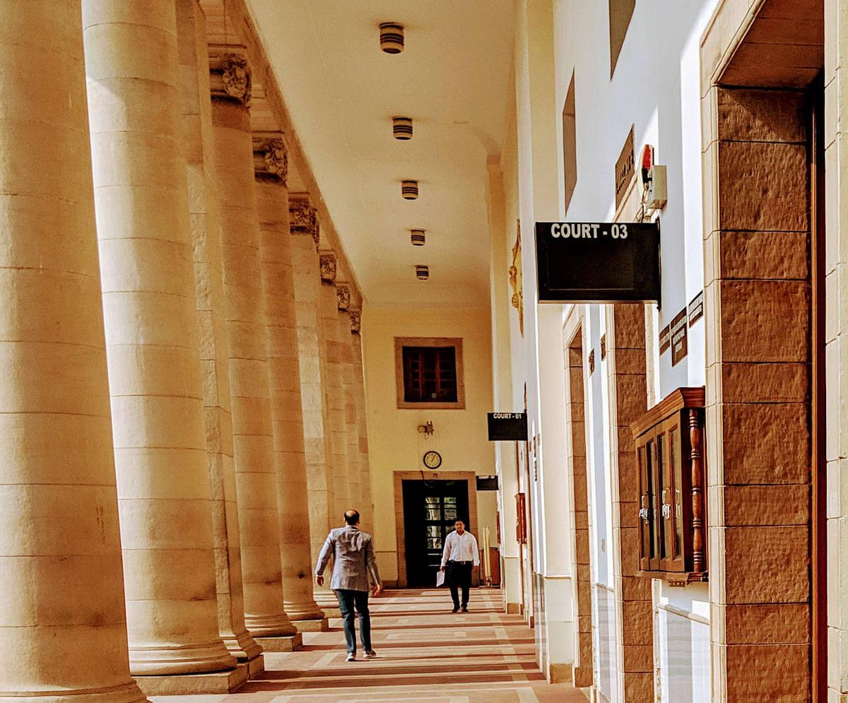 Supreme Court Corridor