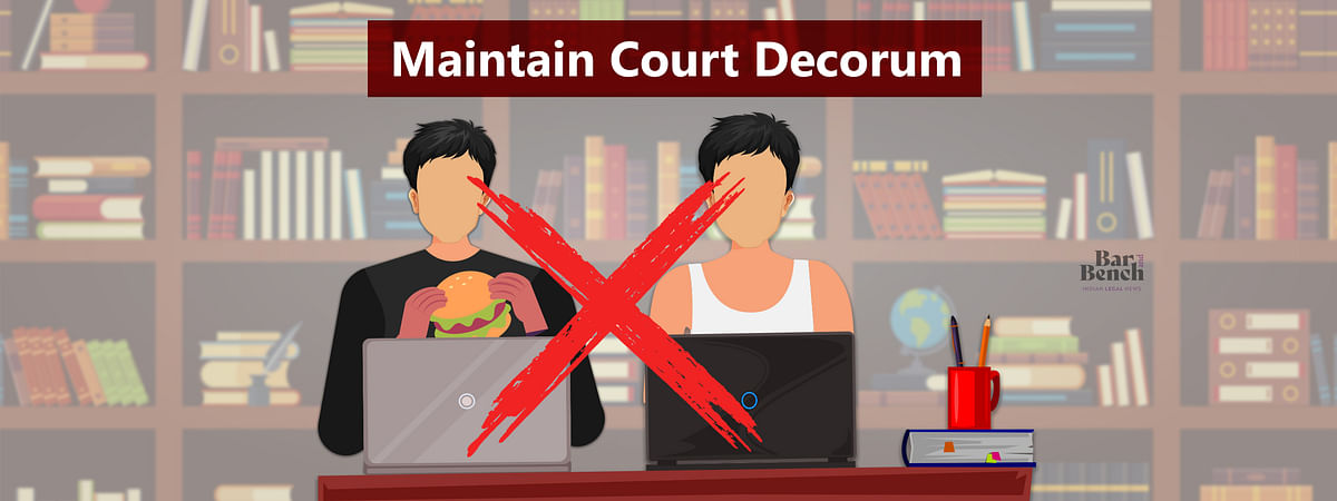 Maintain Court decorum