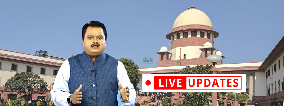 "Plea against broadcast of Sudarshan TV's ""UPSC Jihad"" show - LIVE UPDATES from the SC hearing [Day 4]"
