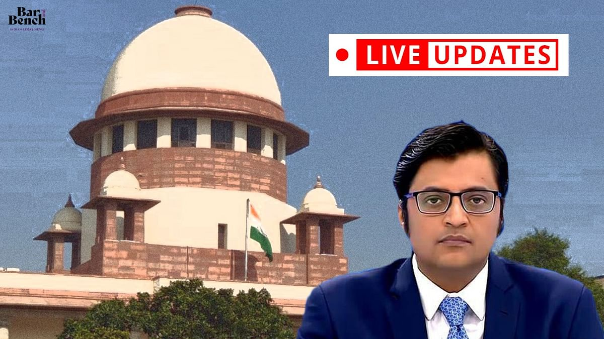 Arnab Goswami moves SC challenging Maharashtra Assembly's breach of privilege notice against him: LIVE UPDATES
