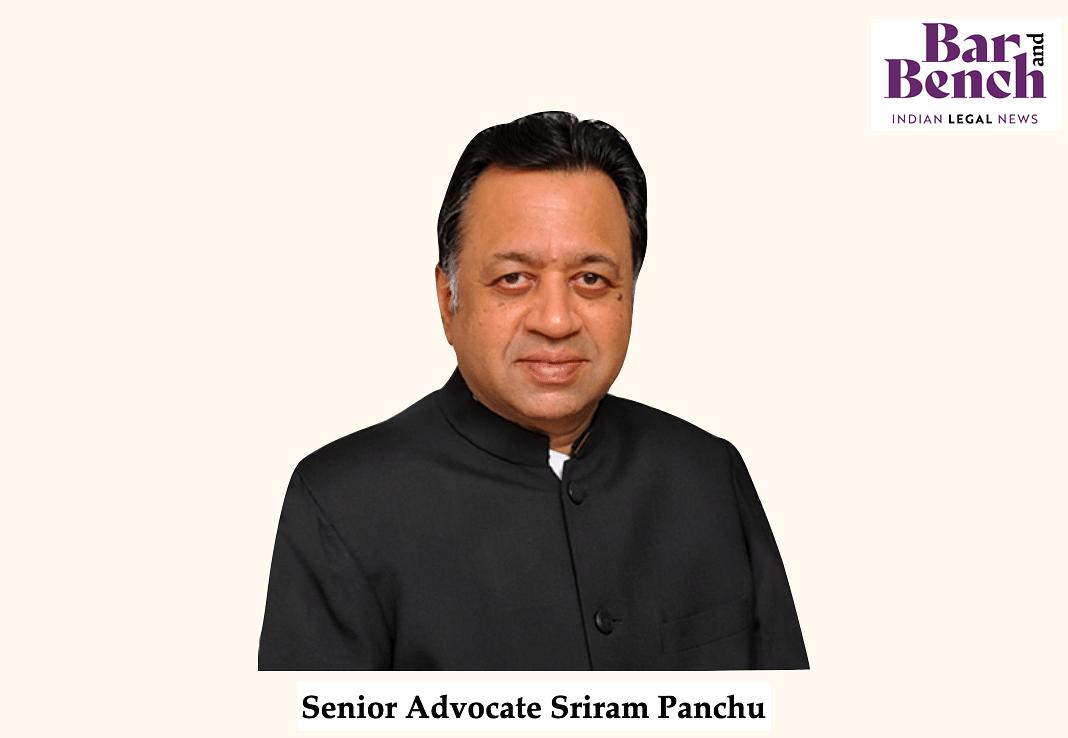 Sriram Panchu, Senior Advocate
