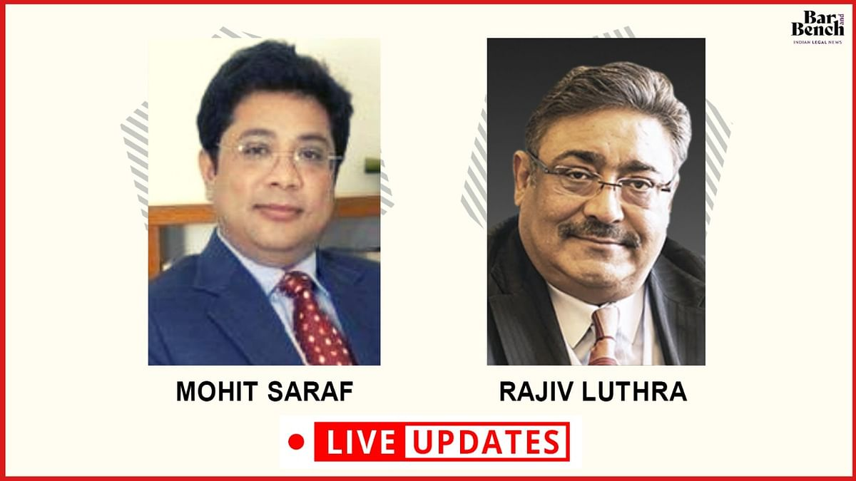 Mohit Saraf v. Rajiv Luthra: LIVE UPDATES from Delhi High Court hearing on interim relief