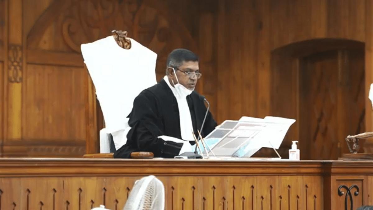 Chief Justice Manikumar