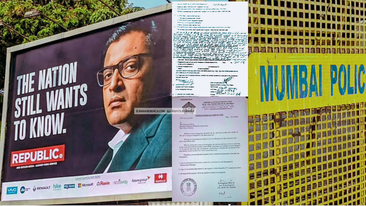 Mumbai Sessions Court dismisses defamation complaint by DCP of Mumbai Police against Arnab Goswami, Republic TV