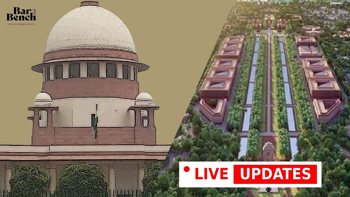 Central Vista Project: Senior Advocate Shyam Divan argues on why public participation is needed [LIVE UPDATES from the Supreme Court]