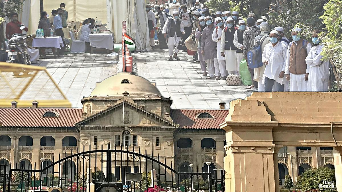 Pending cases against Tablighi Jamat members transferred to 3 Trial Courts in UP, should be decided within 8 weeks: Allahabad HC