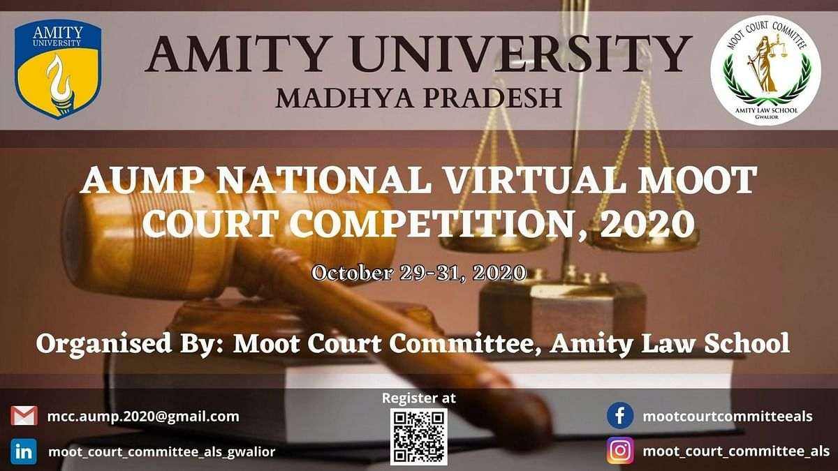 AUMP's National Virtual Moot Court Competition, 2020 [Register by Oct 22]