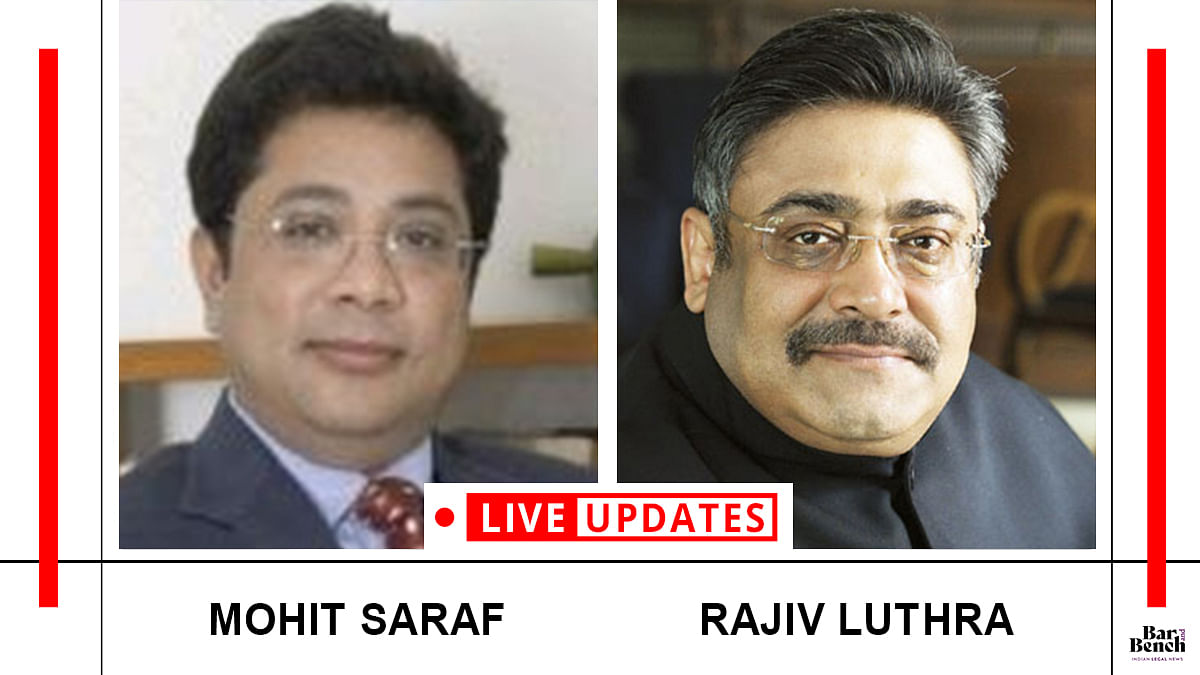 Mohit Saraf v. Rajiv Luthra reaches the Delhi High Court [LIVE UPDATES]