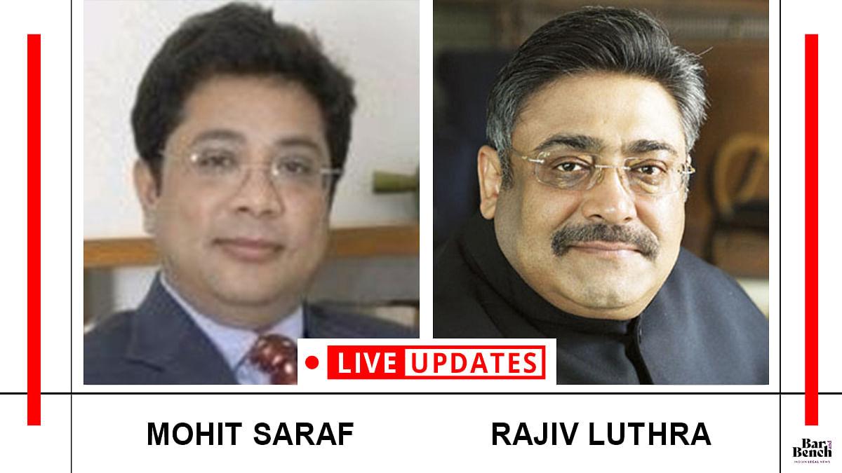 Mohit Saraf v. Rajiv Luthra reaches the Delhi High Court [LIVE UPDATES]