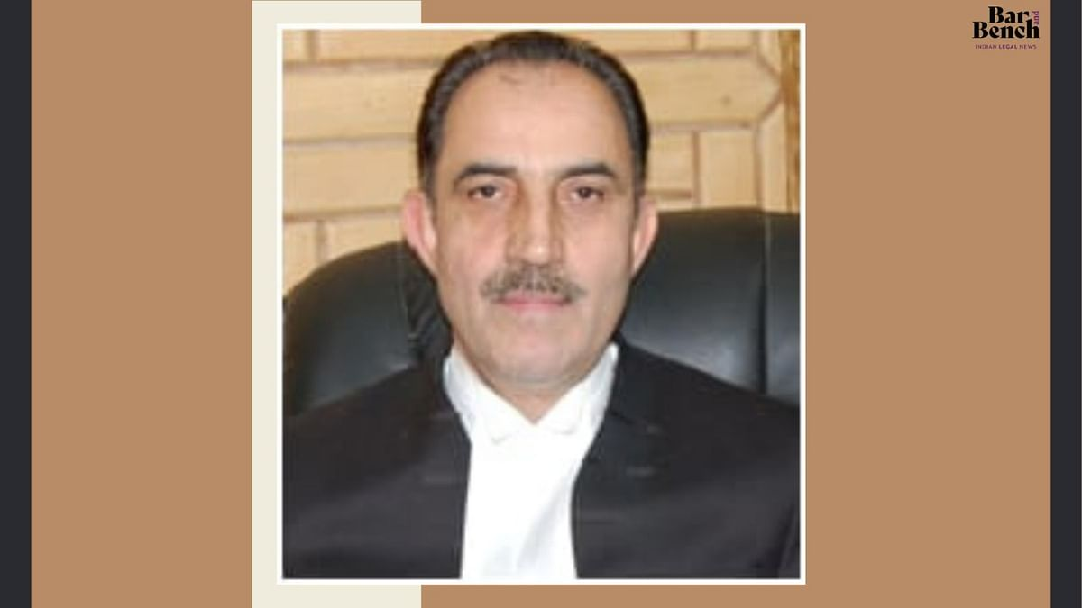 Justice Ali Mohammad Magrey to be First Executive Chairman of Ladakh Legal Services Authority