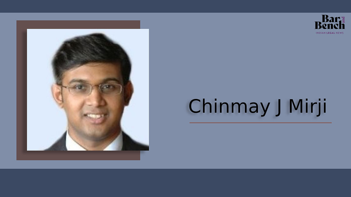 HSA Bangalore Partner Chinmay Mirji leaves firm for counsel practice and policy work