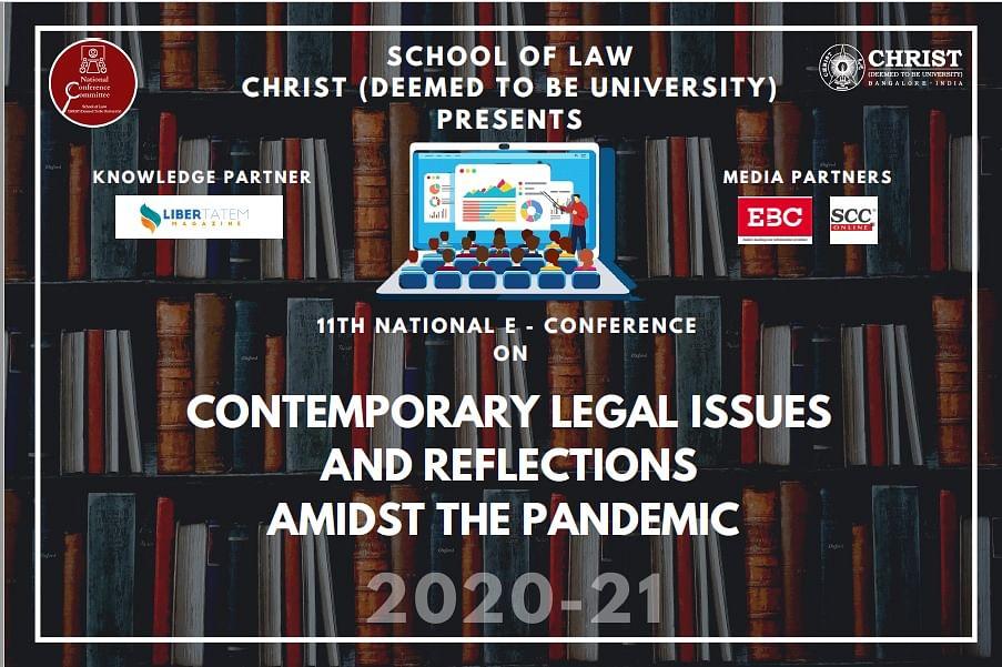 Call for Papers: School of Law, Christ (Deemed) University's National E-Conference (Submit by Nov 20)