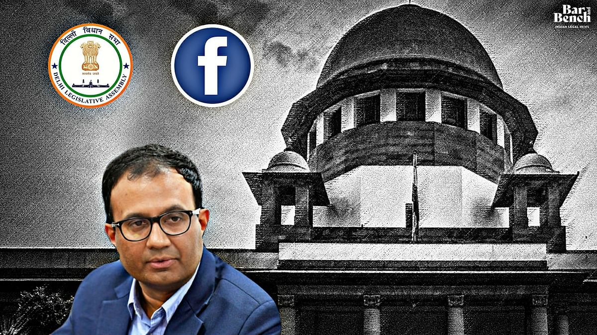 Facebook cannot be compelled to testify before Delhi Assembly Committee: Salve to Supreme Court