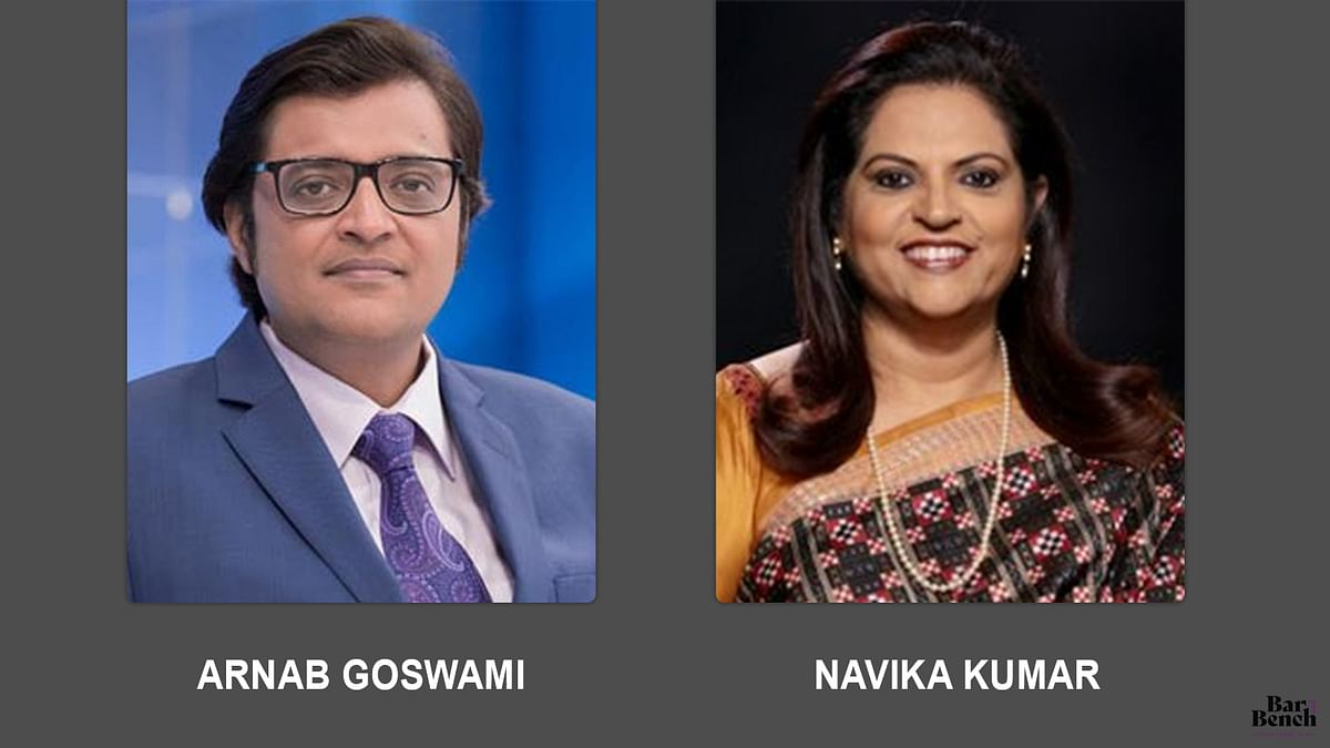 65% of total debates conducted by Arnab Goswami and 69% of debates by Navika Kumar were on Sushant Singh Rajput case: Intervenor informs SC